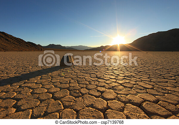 Beautiful Landscape in Death Valley National Park, California - csp7139768