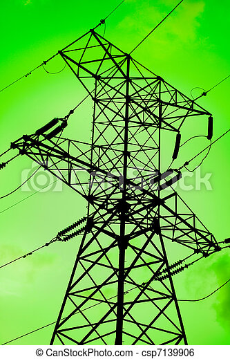 Green energy is clean environment - csp7139906