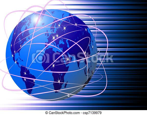 global Internet communications technology - csp7139979