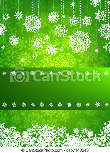 Beige christmas background with christmas. EPS 8 - csp7140243