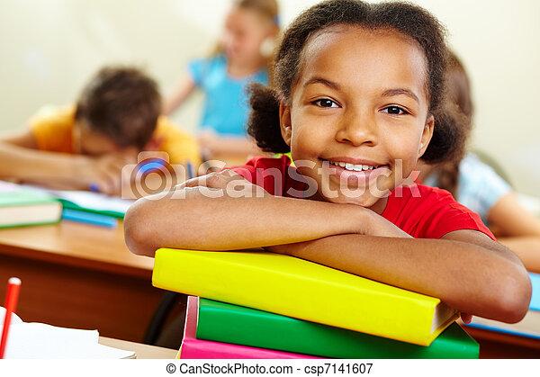 Youthful reader - csp7141607