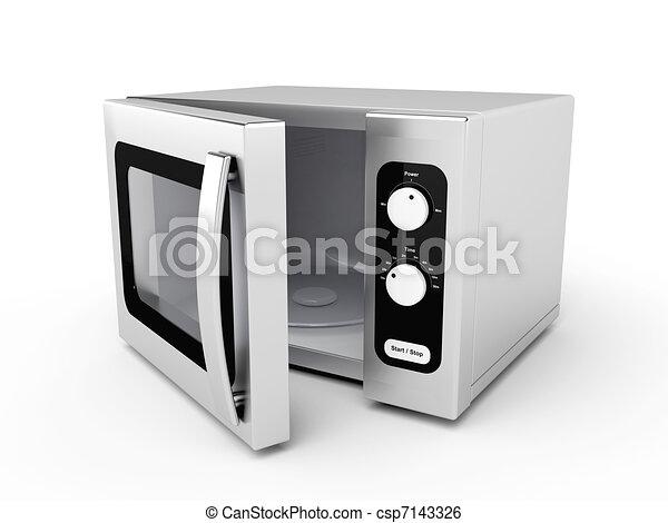 silver microwave oven clip art instant download csp7143326. Black Bedroom Furniture Sets. Home Design Ideas