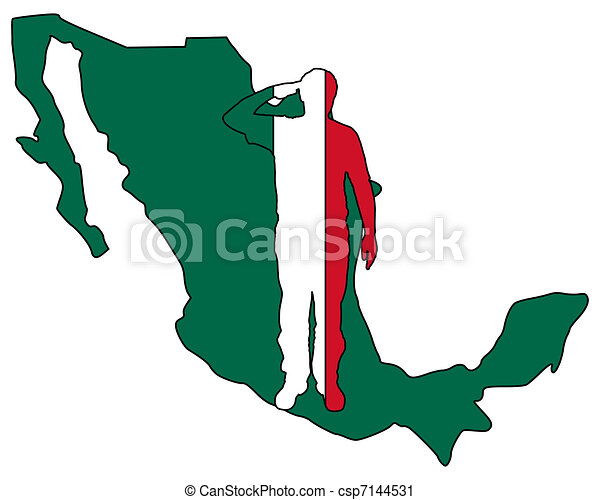 Mexican salute - csp7144531