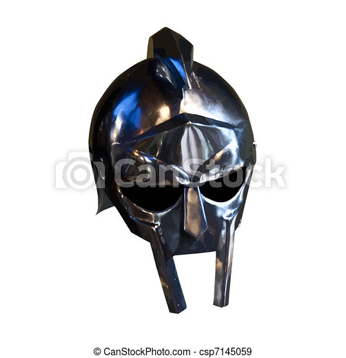 Armour of the medieval knight - csp7145059