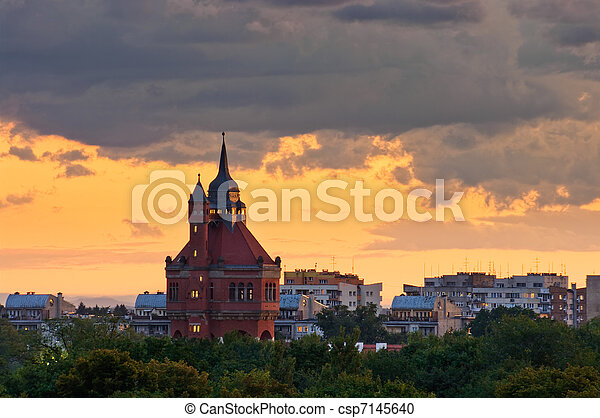 Water Tower in Wroclaw, Poland - csp7145640