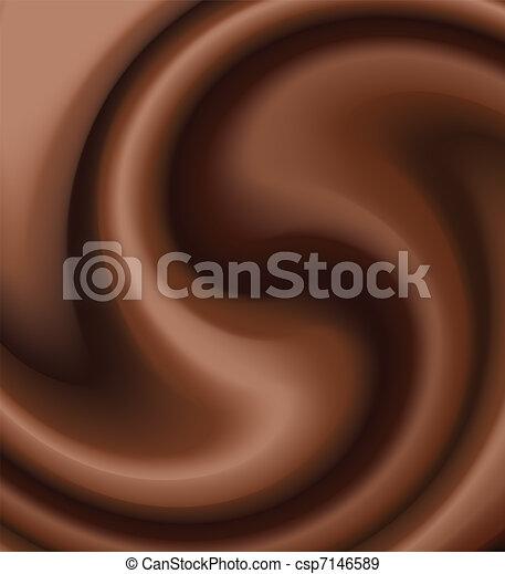chocolate swirl - csp7146589