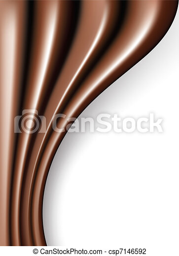 chocolate folds - csp7146592