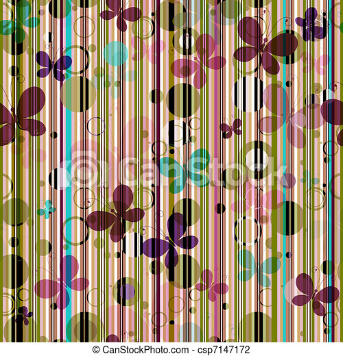 Striped seamless pattern - csp7147172