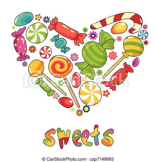 Sweets heart - csp7149993