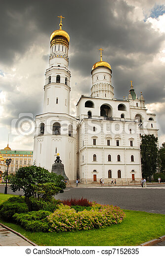 Churches of the Moscow Kremlin - csp7152635