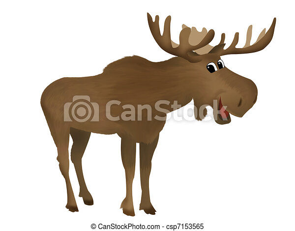 Moose Stock Illustrations. 3,023 Moose clip art images and royalty ...