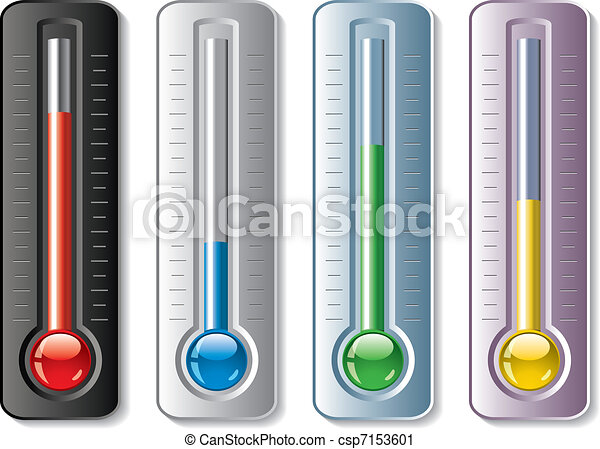 set of thermometers  - csp7153601