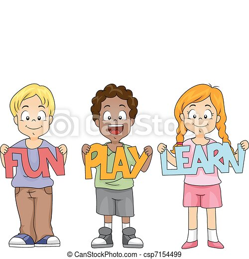 Kids Cutouts - csp7154499