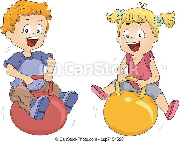 Bouncing Balls - csp7154523