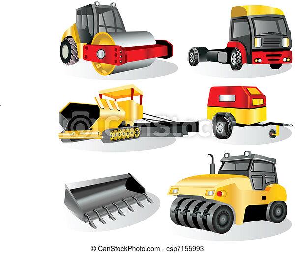 Construction Icons 7 - csp7155993
