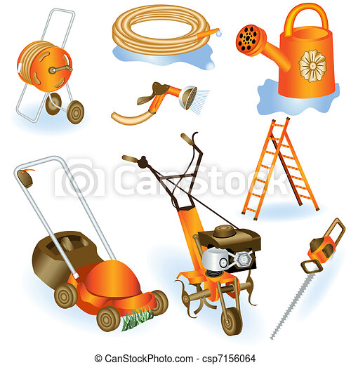 Garden tools 2 - csp7156064