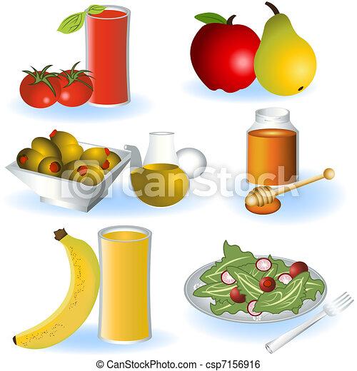 Vegetarian food 2 - csp7156916