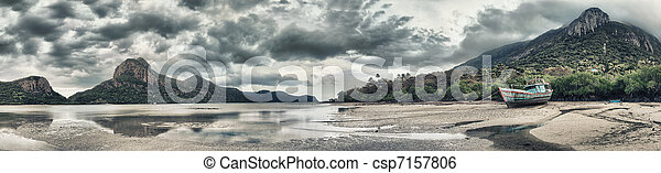 Seascape panorama - csp7157806