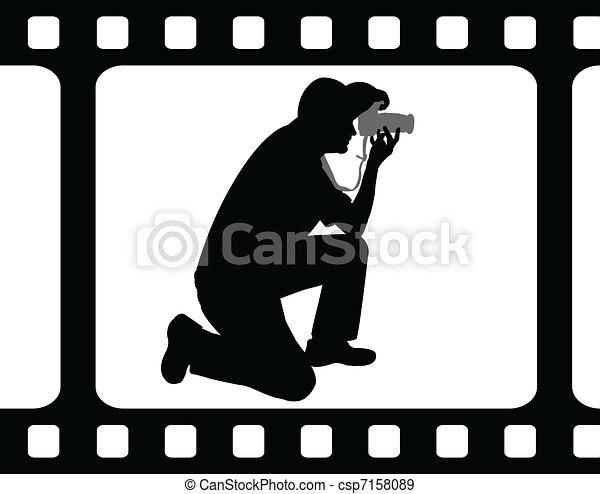 Photographer - csp7158089