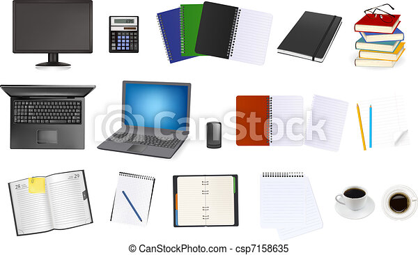 Business and office supplies - csp7158635
