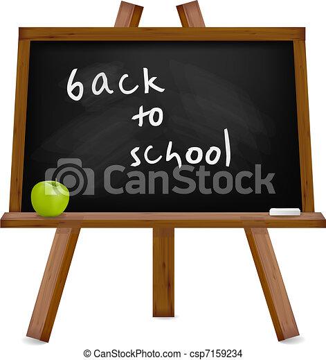 Back to school. Blackboard  - csp7159234