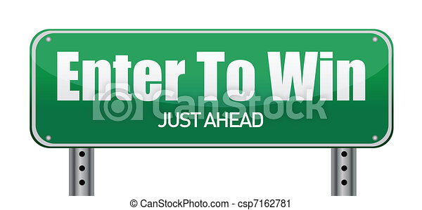 Enter To Win, Just Ahead Green Road - csp7162781