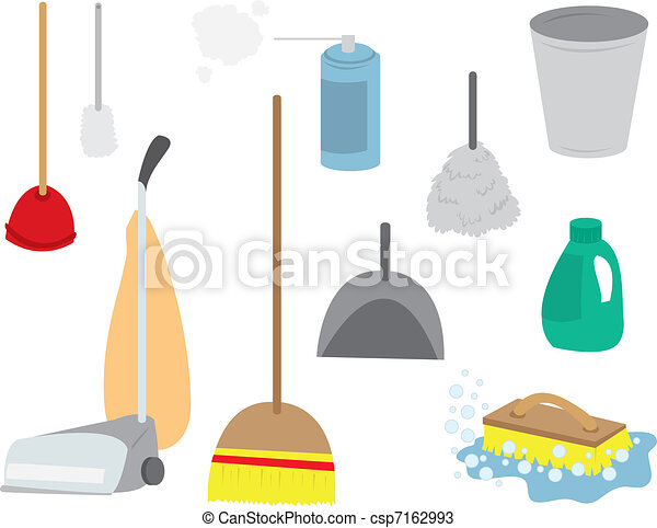 Cleaning Supplies Continued - csp7162993
