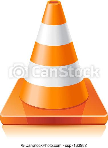 Traffic cone - csp7163982