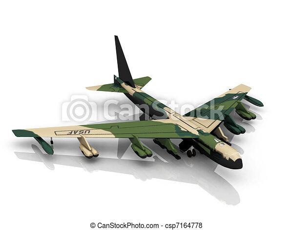 Military plane - csp7164778