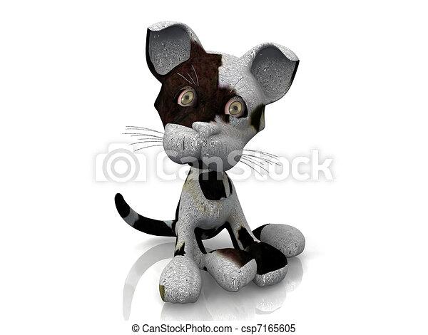 Comical puppy - csp7165605
