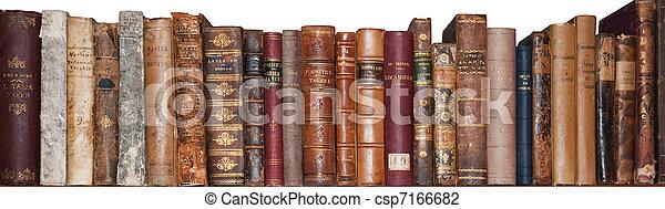 Old books - csp7166682