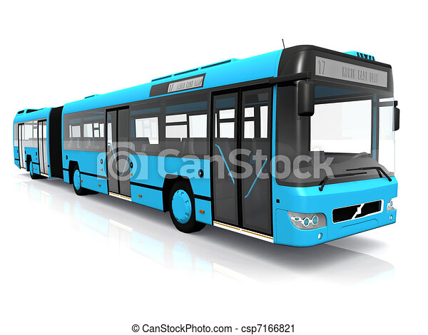 Public transportation bus - csp7166821