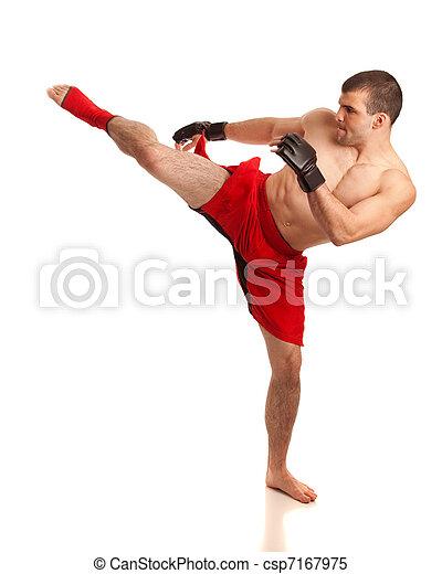 MMA Fighter - csp7167975