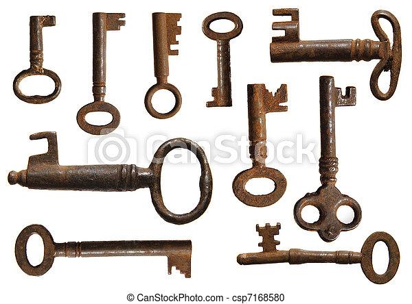 Gamle nøgler køb