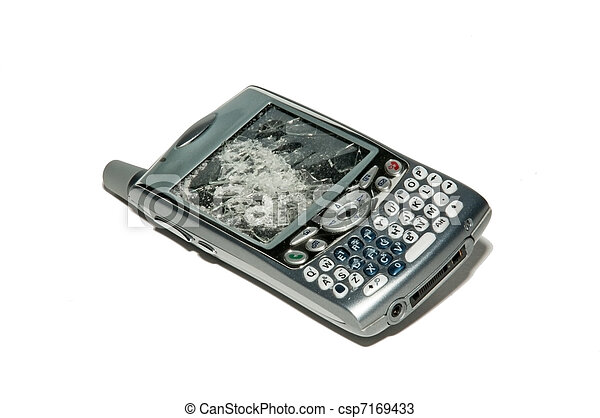 Smartphone - Broken cell phone - csp7169433