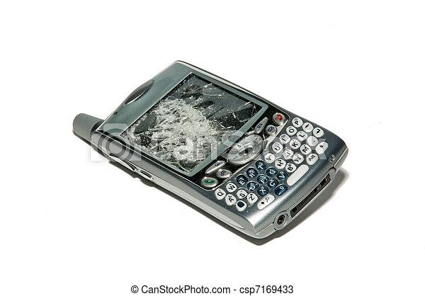 Smartphone - Broken cell phone - csp7169433