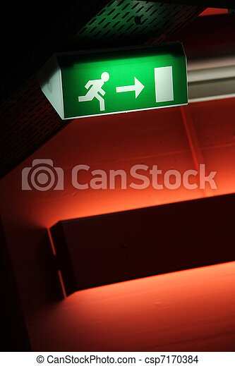 emergency exit - csp7170384