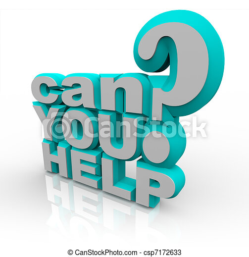Can You Help Plea for Financial Volunteer Support - csp7172633
