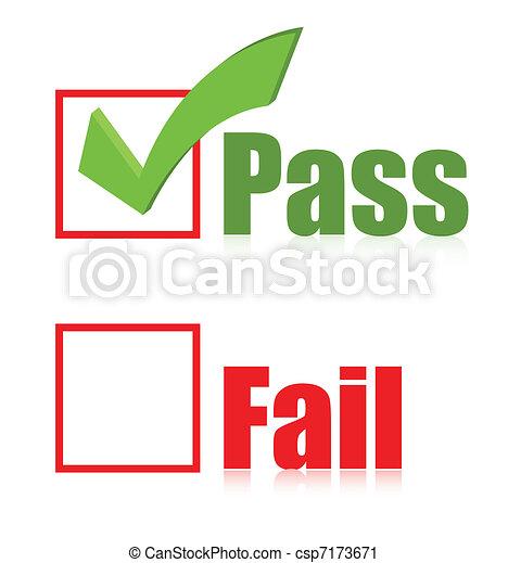 choose Pass box illustration design - csp7173671