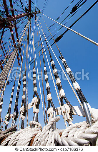 Sail ship - csp7186376