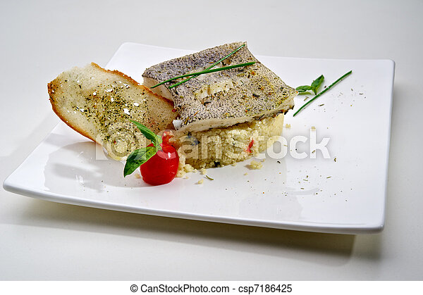 Pike-perch fillet - csp7186425