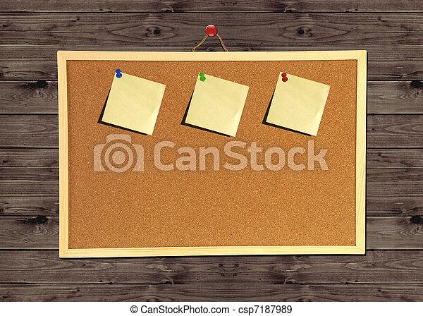 Stock de fotografos de corcho bolet n tabla madera - Tabla de corcho ...