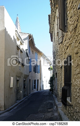 Nostradamus's birthplace - Saint-R - csp7188268