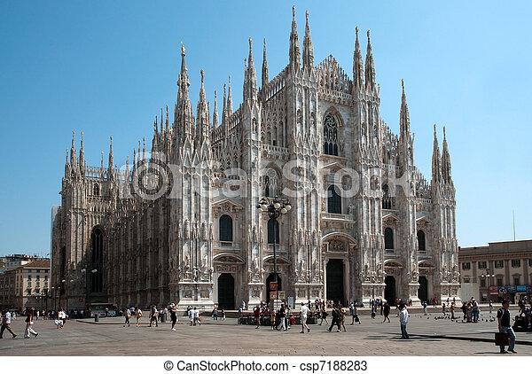 Milan Cathedral (Dome, Duomo) - csp7188283