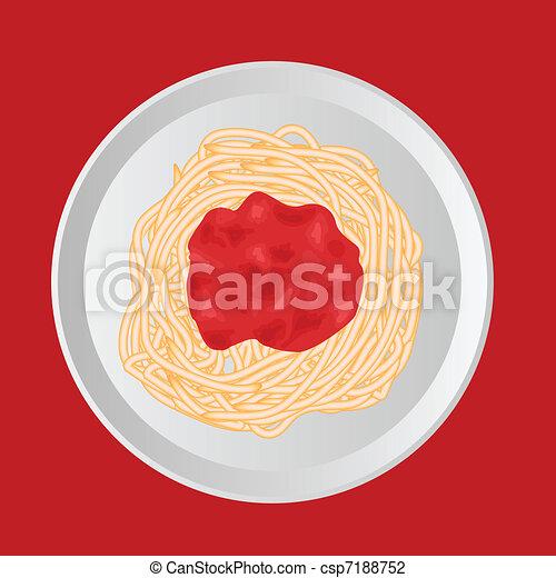 spaghetti - csp7188752