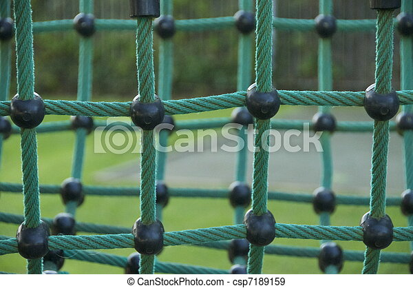 Netting in a playground - csp7189159