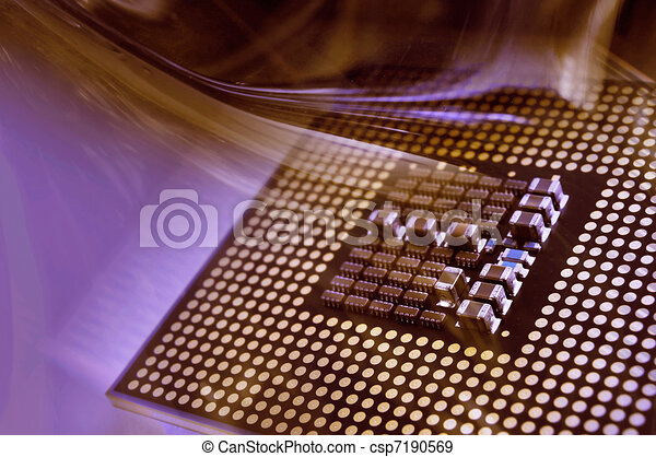 CPU Computer Processor - csp7190569