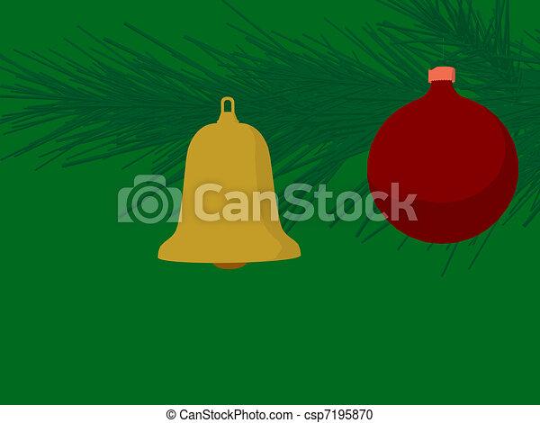 Jingle Bells - csp7195870