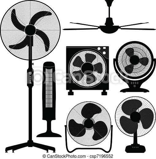 Standing Table Ceiling Fan Design - csp7196552