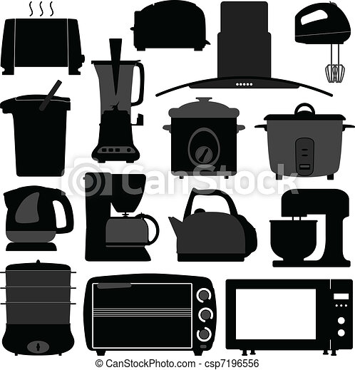 Kitchen Appliances Electronic Tool - csp7196556
